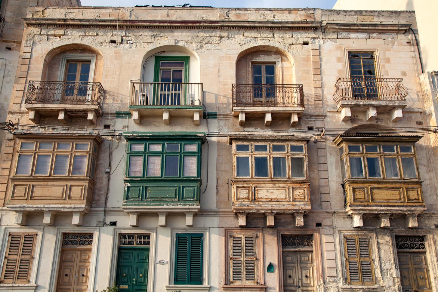 gevels in Malta