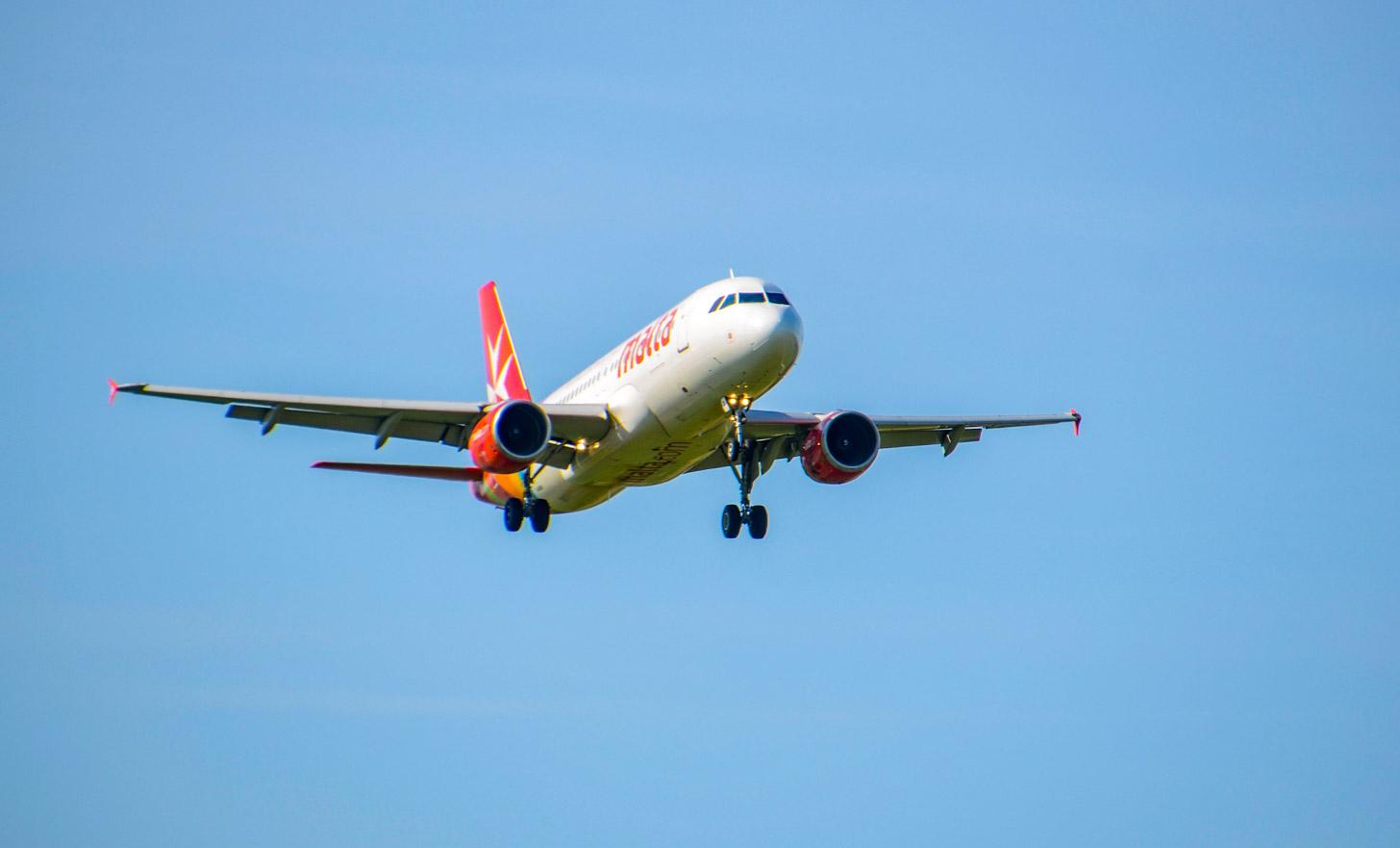 vliegen naar Malta, bijvoorbeeld met Air Malta